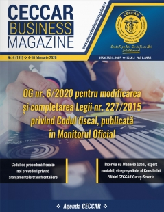CECCAR Business Magazine, nr. 4 / 4-10 feb. 2020