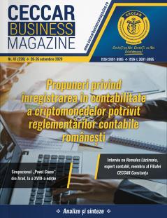 CECCAR Business Magazine, nr. 41 / 20-26 oct. 2020