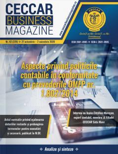 CECCAR Business Magazine, nr. 42 / 27 oct. - 2 nov. 2020