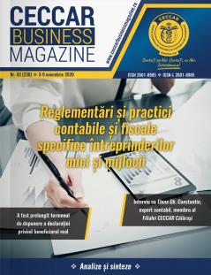CECCAR Business Magazine, nr. 43 / 3-9 nov. 2020