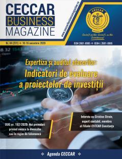 CECCAR Business Magazine, nr. 44 / 10-16 nov. 2020