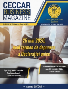 CECCAR Business Magazine, nr. 7 / 25 feb. - 2 mar. 2020