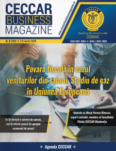 CECCAR Business Magazine, nr. 8 / 3-9 martie 2020