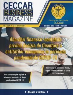 CECCAR Business Magazine, nr. 1 / 12-18 ian. 2021
