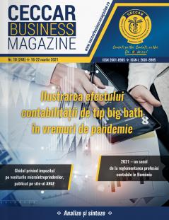 CECCAR Business Magazine, nr. 10 / 16-22 mar. 2021