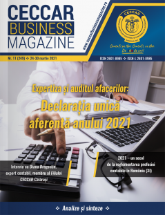 CECCAR Business Magazine, nr. 11 / 24-30 mar. 2021