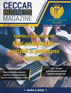 CECCAR Business Magazine, nr. 12 / 31 mar.-6 apr. 2021