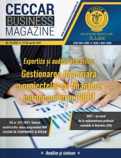 CECCAR Business Magazine, nr. 14 / 14-20 apr. 2021