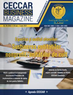 CECCAR Business Magazine, nr. 20 / 26 mai - 1 iun. 2021