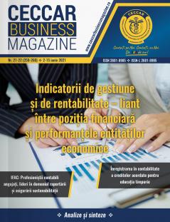 CECCAR Business Magazine, nr. 21-22 / 2-15 iun. 2021