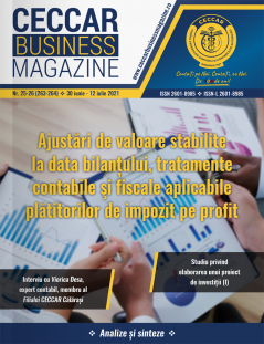 CECCAR Business Magazine, nr. 25-26 / 30 iun.-12 iul. 2021