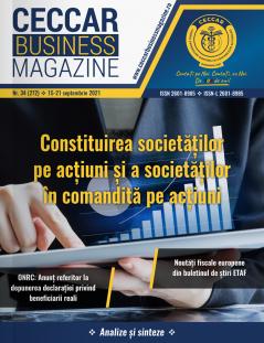 CECCAR Business Magazine, nr. 34 / 15-21 sept. 2021