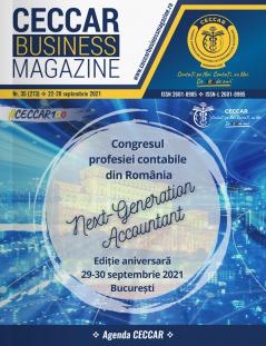 CECCAR Business Magazine, nr. 35 / 22-28 sept. 2021