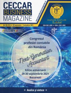 CECCAR Business Magazine, nr. 36 / 28 sept. - 5 oct. 2021