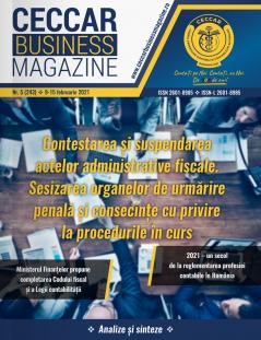 CECCAR Business Magazine, nr. 5 / 9-15 feb. 2021