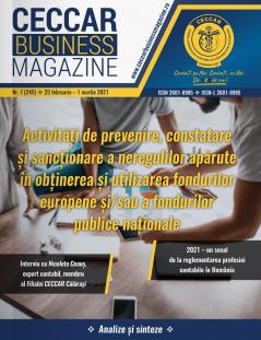 CECCAR Business Magazine, nr. 7 / 23 feb.-1 mar. 2021