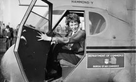 Înconjurul lumii cu avionul, dorința Ameliei Earhart