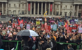 Proteste anti-austeritate la Londra