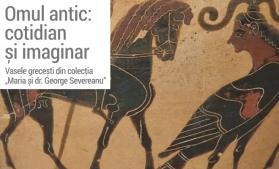 Expoziția Omul antic: cotidian și imaginar, la Palatul Șuțu din București