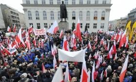Polonia: anti și pro apartenența la UE
