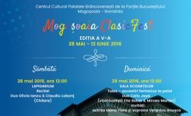 Festival al muzicii clasice, la Palatul Brâncovenesc de la Mogoșoaia