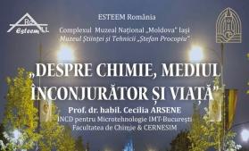 Seratele Procopiu la Palatul Culturii din Iași: Despre Chimie, Mediul înconjurător și Viață
