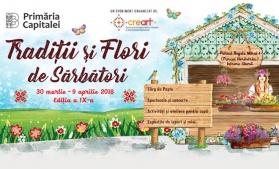 """Târgul Tradiții și Flori de Sărbători, în Parcul """"Regele Mihai I"""" – Herăstrău"""