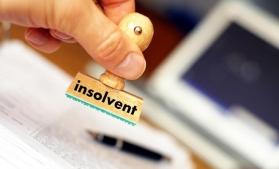 ONRC: Numărul insolvențelor a urcat cu aproape 12% în primele cinci luni din 2018. Suspendările și dizolvările, în creștere cu 30,81%, respectiv 59,49%