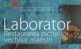 Laboratoarele de restaurare ale Muzeului Național de Artă al României, prezentate publicului într-o expoziție