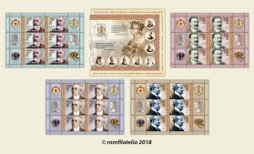 Romfilatelia a lansat emisiunea de mărci poștale Făuritori ai Marii Uniri, partea a II-a