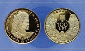 Emisiune numismatică cu tema 175 de ani de la nașterea reginei Elisabeta a României