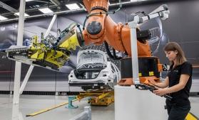 Producția industrială a crescut mai rapid în România decât media UE, în septembrie