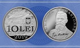 Emisiune numismatică cu tema Desăvârșirea Marii Uniri – Emmanuel de Martonne