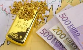 Rezervele internaţionale ale României (valute plus aur), 36,715 miliarde euro la 31 mai