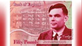 Matematicianul Alan Turing va figura pe bancnota de 50 de lire sterline
