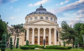Vară magicăsub cupola Ateneului Român