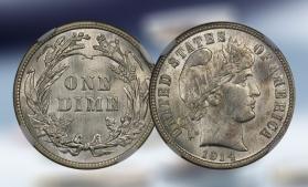 O monedă de 10 cenți din 1894 a fost cumpărată pentru 1,32 milioane de dolari