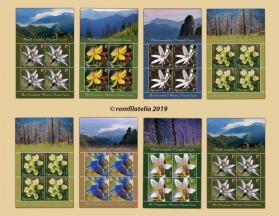 O nouă emisiune de mărci poștale – Florile munților, Muntele Cozia