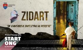 Prima pictură murală din România care purifică aerul, la Bacău