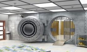 Bogaţii lumii încep să-şi depoziteze averile în seifuri