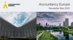 Buletinul de știri Accountancy Europe – mai 2020