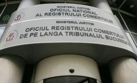 ONRC: Numărul înmatriculărilor de persoane fizice şi juridice a scăzut cu aproape 24% în primele nouă luni
