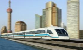 China a prezentat un tren care se poate deplasa cu 600 km/h