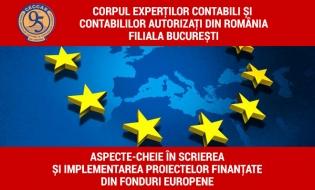Aspecte-cheie în scrierea și implementarea proiectelor finanțate din fonduri europene