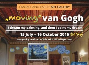Expoziție dedicată pictorului Vincent van Gogh, la Castelul Cantacuzino din Bușteni