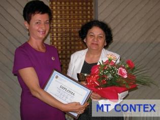 MT CONTEX SRL – Premiul special al anului 2015 în Topul local al celor mai bune societăți membre CECCAR, filiala Satu Mare
