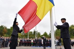 Drapelul României la CERN
