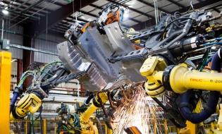 Cifra de afaceri din industrie a crescut în primele opt luni cu 3,9%