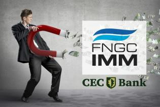 Garanții pentru IMM-uri și start-up-uri de până la 80% prin FNGCIMM, pentru creditele de la CEC Bank