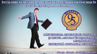 Filiala CECCAR Ialomița: Răspunderea expertului contabil și riscul asociat în realizarea lucrărilor de expertiză contabilă judiciară